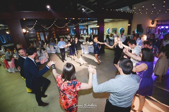 svadba restoran alaska barka kolo